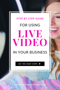 How To Use Live Video in Your Business | Free Training to learn how to use LIVE video to grow your business